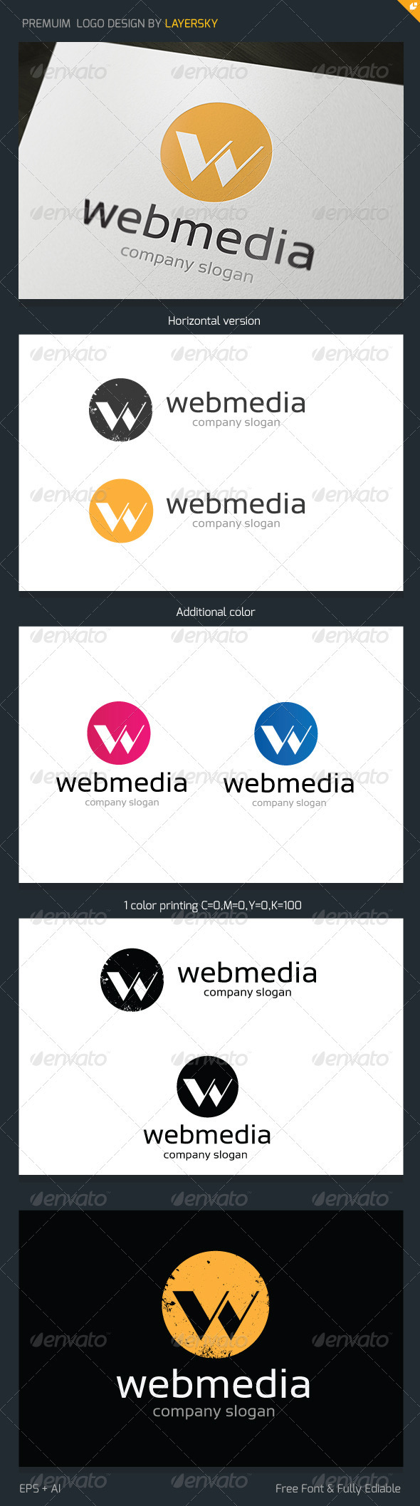 GraphicRiver Web Media Logo 3693058