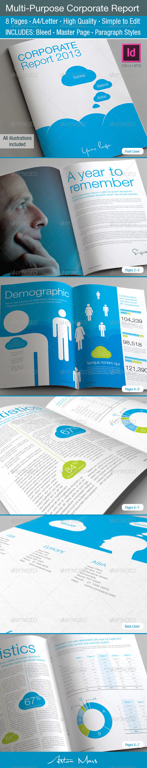 GraphicRiver Multi-Purpose Corporate Report 3760200