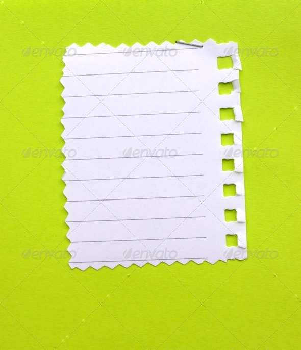 Note Paper  - Stock Photo - Images