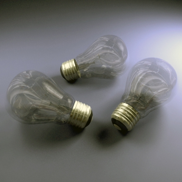 Electric Bulb - 3DOcean Item for Sale