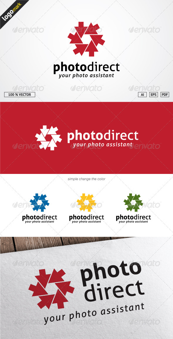 GraphicRiver Photo Direct Logo 3709926