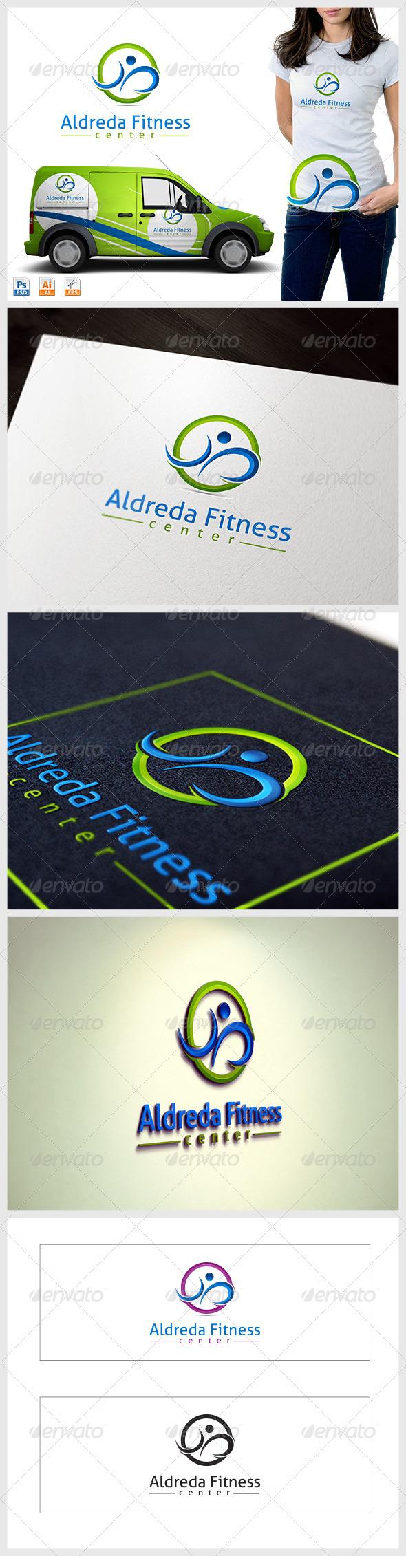 GraphicRiver Fitness Center logo 3762444