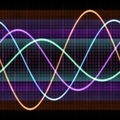 Colorful Sine Waveforms - PhotoDune Item for Sale