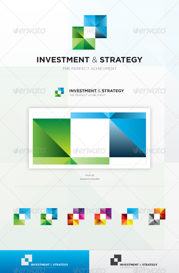 GraphicRiver Strategy And Investment Logo 3763222
