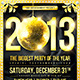 New Year Disco Flyer - GraphicRiver Item for Sale