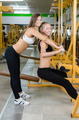 Two Sexy Girls in Fitness Studio - PhotoDune Item for Sale