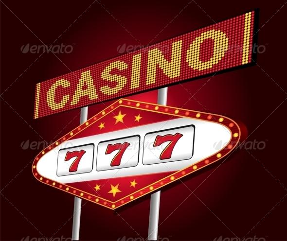 GraphicRiver Casino neon 3763843
