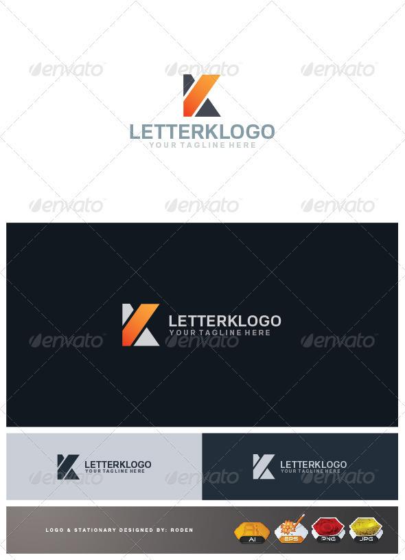 Letter K Logo - Letters Logo Templates
