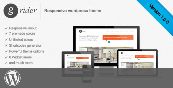 Grider responsive wordpress theme
