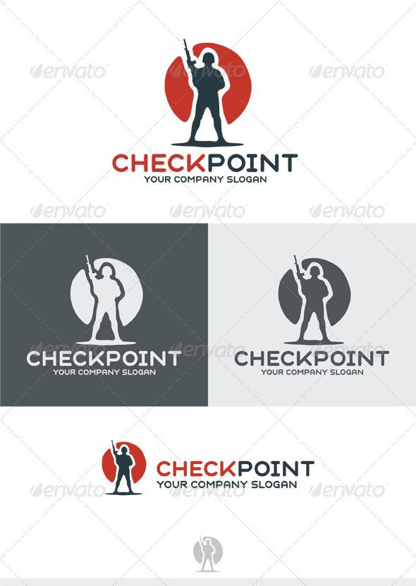 GraphicRiver Checkpoint Logo 3764176