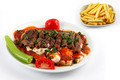 Turkish Food: Kebab + Potato Fries - PhotoDune Item for Sale