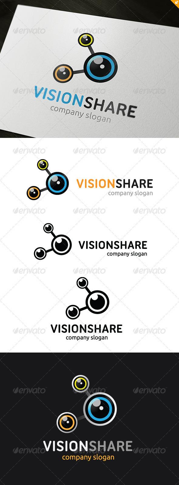 GraphicRiver Vision Share Logo 3688983