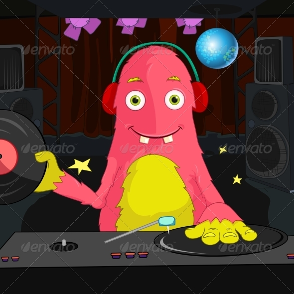 GraphicRiver Funny Monster 3765602