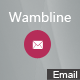 Wambline E-mail Template - ThemeForest Item for Sale