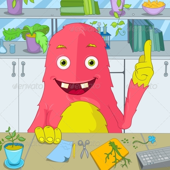 GraphicRiver Funny Monster 3765899