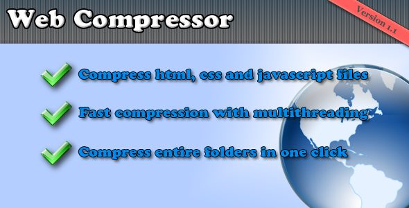 Website compressor