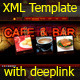 Restaurant OldStyle Xml Template - ActiveDen Item for Sale
