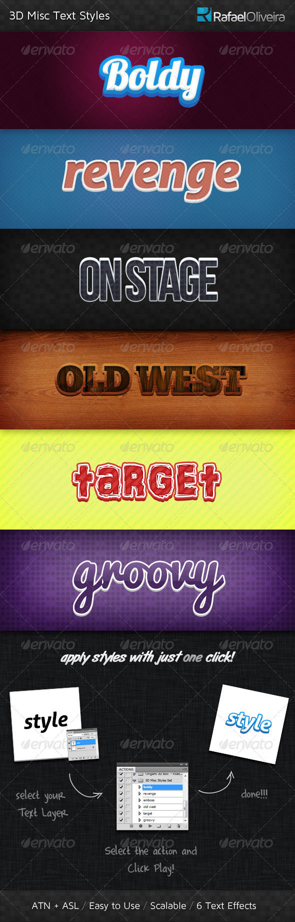 GraphicRiver 3D Misc Text Styles 403744