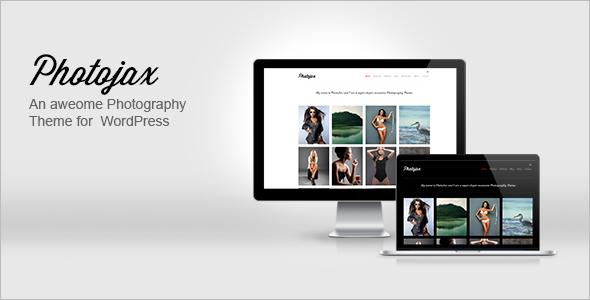 Photojax Minimalist AJAX Photography Portfolio - Photography Creative