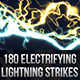 180 Seamless Lightning Strikes - GraphicRiver Item for Sale