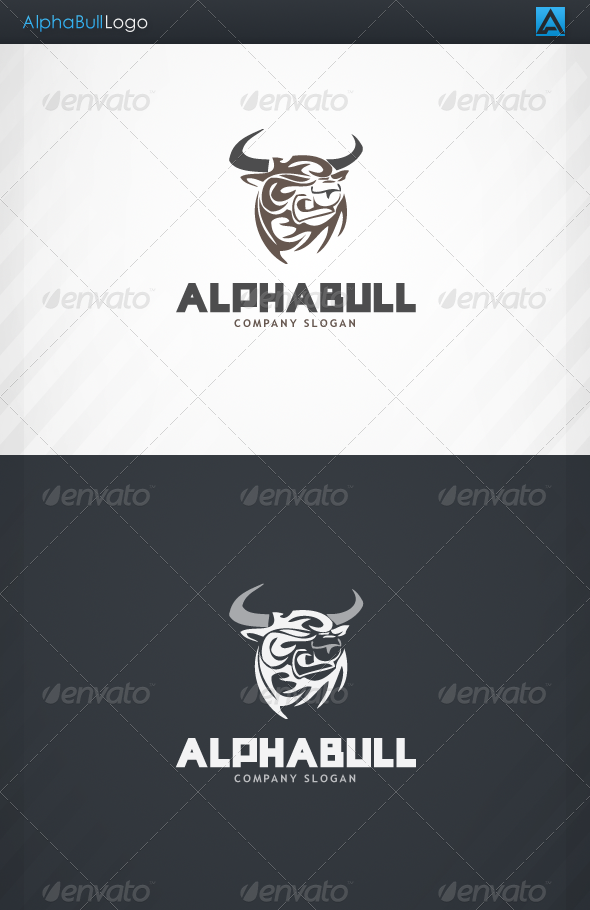GraphicRiver AlphaBull Logo 3714249