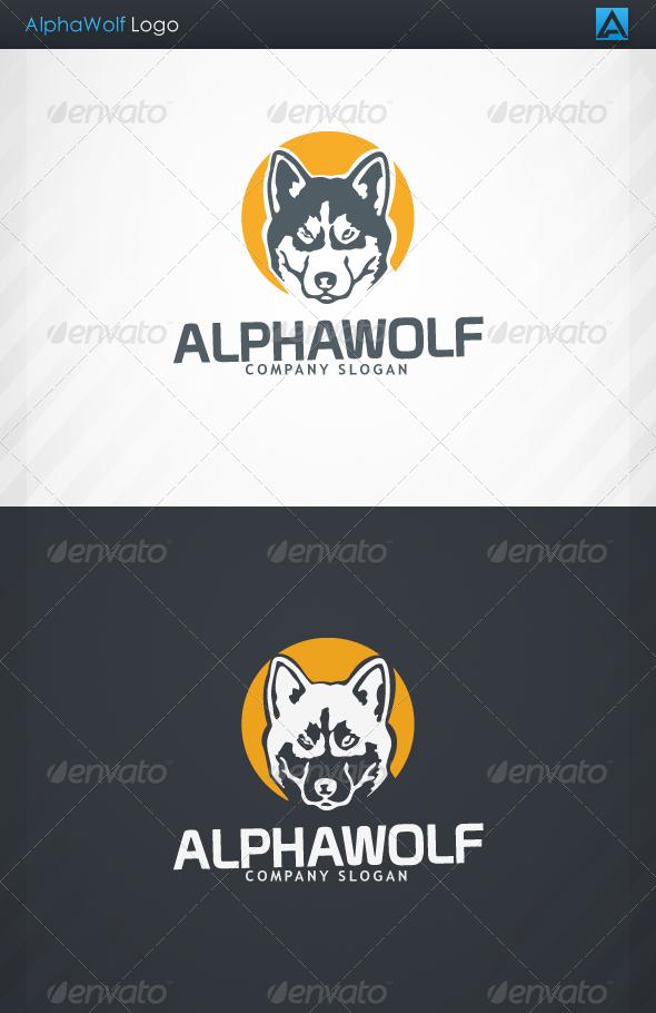 GraphicRiver AlphaWolf Logo 3714523