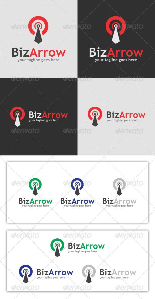 GraphicRiver BizArrow Logo Template 3769145