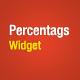 Percentags Widget - WordPress prima Programes Tag - Article WorldWideScripts.net en venda