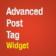 Advanced Post Tags Widget - WordPress Plugin