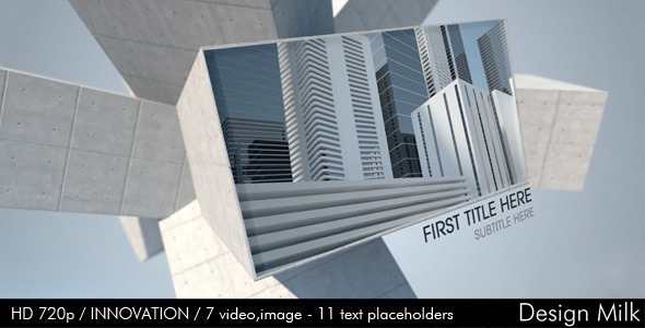 After Effects Project - VideoHive Innovation 405311
