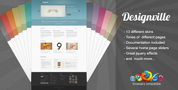 Designville - Business & Portfolio WordPress Theme