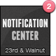 Notification Center - 4 Notification Types
