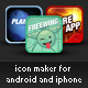 Android and iTunes Icon Creator - GraphicRiver Item for Sale
