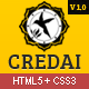 Credai : Business Responsive HTML5 Template - ThemeForest Item for Sale
