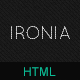 IRONIA - Mobile Website - ThemeForest Item for Sale