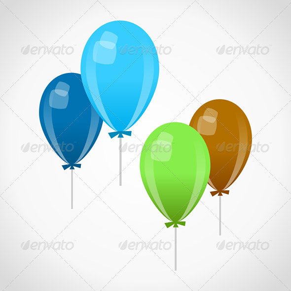 GraphicRiver Decoration Balloons 3770159