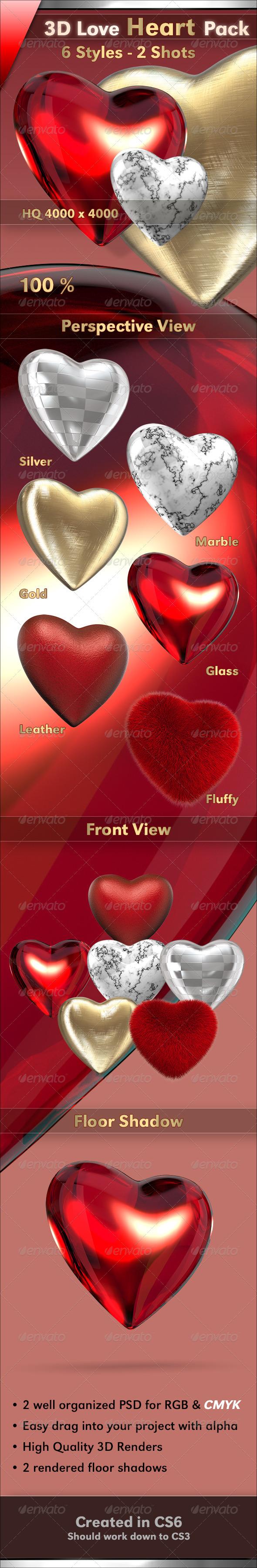 GraphicRiver Heart 3770160