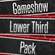 Gameshow Lower Thirds - VideoHive Item for Sale