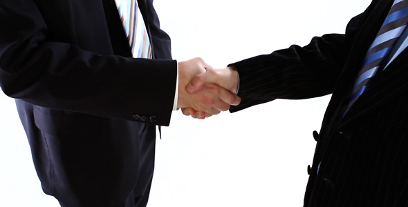 Business People Shaking Hands  VideoHive Stock Footage  People 405938