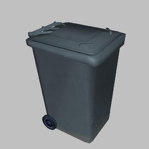 3DOcean Trash Bin 3770376