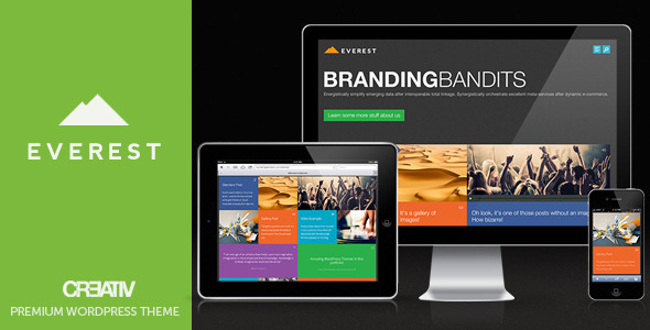 ThemeForest Everest Premium WordPress Theme 3760415