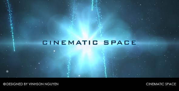 After Effects Project - VideoHive Cinematic Space 132499