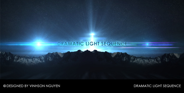 After Effects Project - VideoHive Dramatic Light Sequence 100298