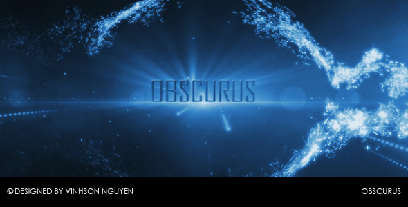 After Effects Project - VideoHive Obscurus Particle Reveal 400676