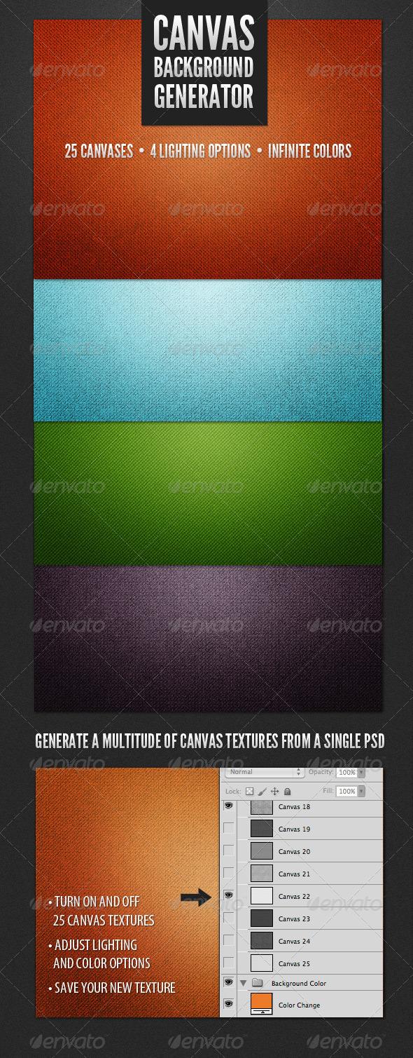 GraphicRiver Modern Canvas Background Generator 3770844