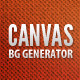 Modern Canvas Background Generator - GraphicRiver Item for Sale