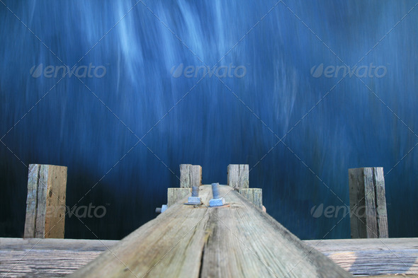 water under a bridge - Stock Photo - Images