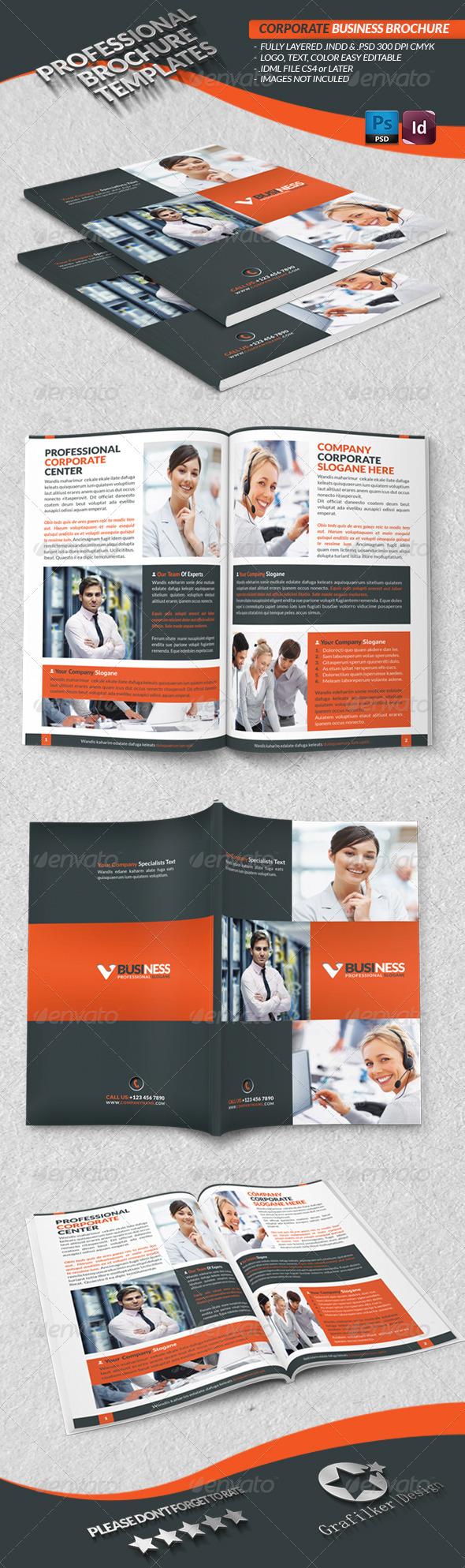 GraphicRiver Corporate Business Brochure 3771417