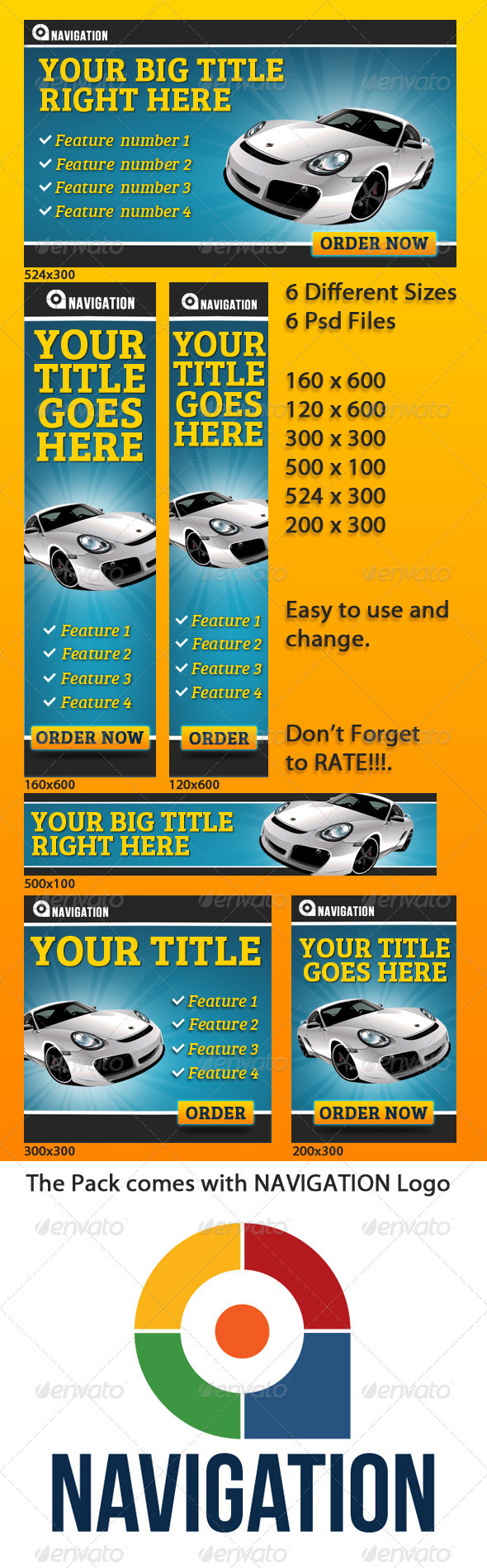 GraphicRiver Web Banners 3712661