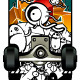 Vector set of graffiti skateboards styles - GraphicRiver Item for Sale